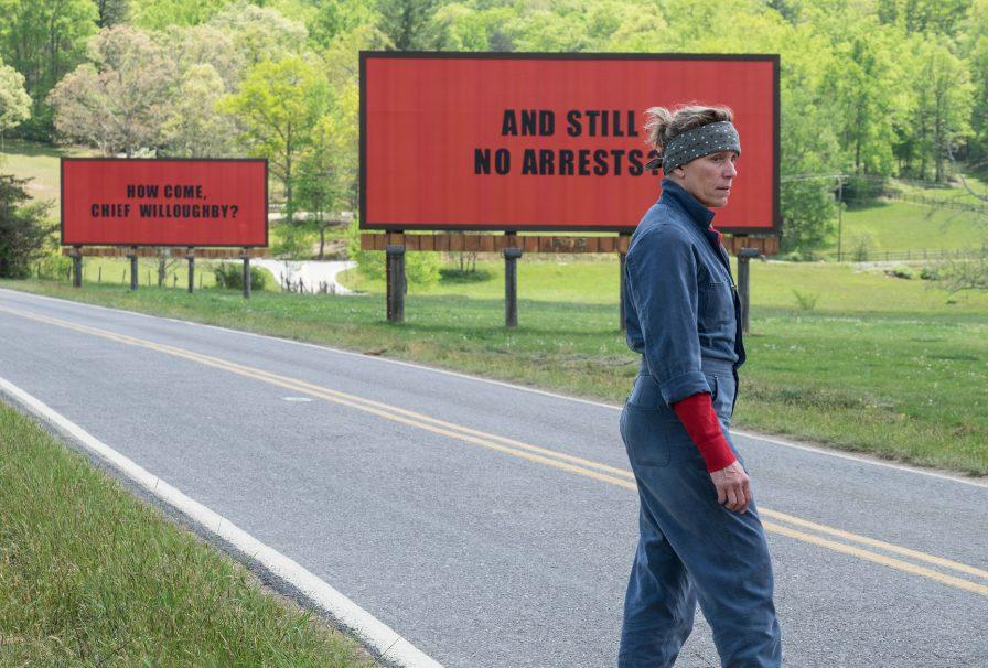 Two Billboards & Frances McDormand