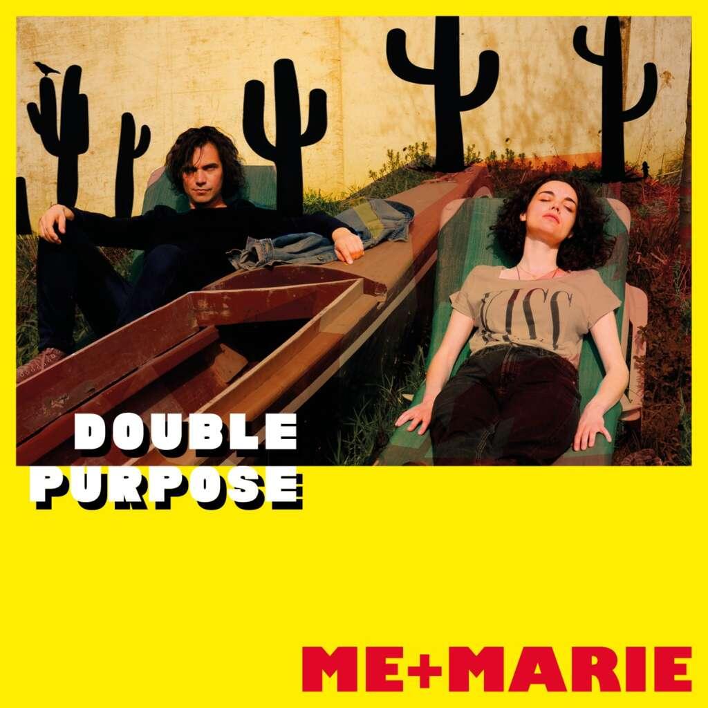 ME+MARIE_Double Purpose_Album cover