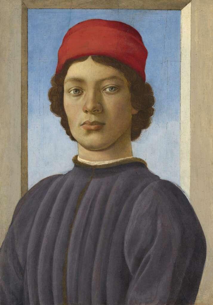 Filippino Lippi: Bildnis eines jungen Mannes (um 1480/85)