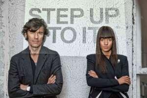 Stefan Sagmeister & Jessica WalshStefan Sagmeister & Jessica Walsh Beauty Porträt 2013 © John Madere