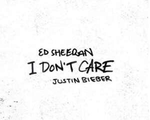 """Ed Sheeran und Justin Bieber bringen gemeinsame Single """"I don't care"""" heraus"""