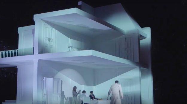 """Ein neues Video gibt Einblick in die Inszenierung von Georg Friedrich Händels """"Rodelinda, Regina de' Longobardi"""" am Opernhaus Frankfurt."""