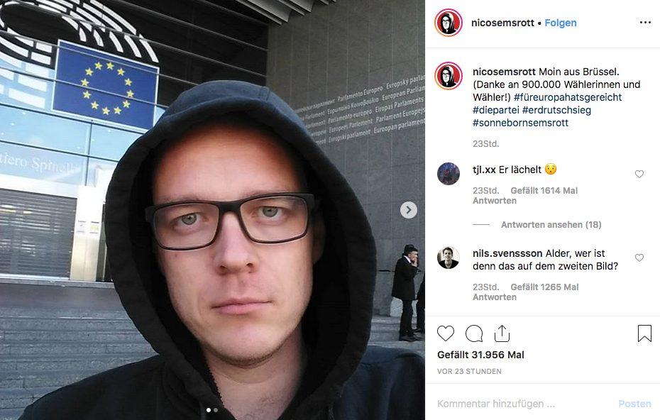 Nico Semsrott_Instagram_Screenshot