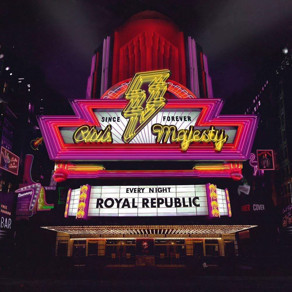 """Royal Republic veröffentlichen ihr neues Album """"Club Majesty""""."""